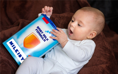 Baby formula milk powder